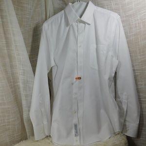 Nordstrom Men's 17-36/37 White Dress Shirt C6
